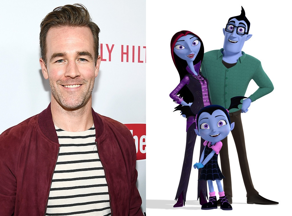 Celeb Voices In Kid Shows, James Van Der Beek, Vampirina