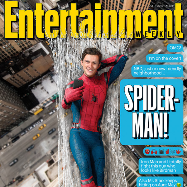 Tom Holland, Entertainment Weekly