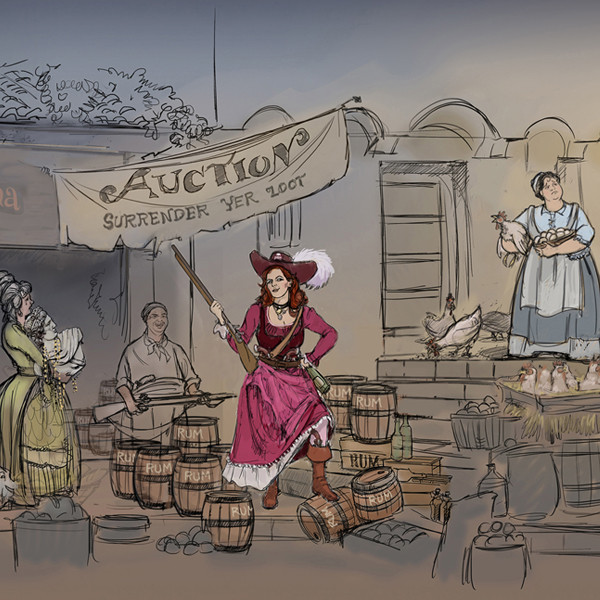 Pirates of the Caribbean, Artist Concept