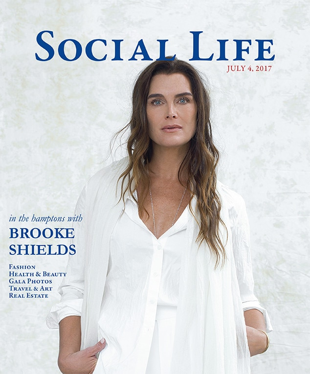 Brooke Shields, Cover, Social Life Magazine