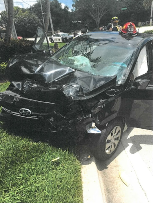 Venus Williams, Car Accident