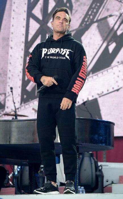 One Love Manchester benefit concert, Robbie Williams