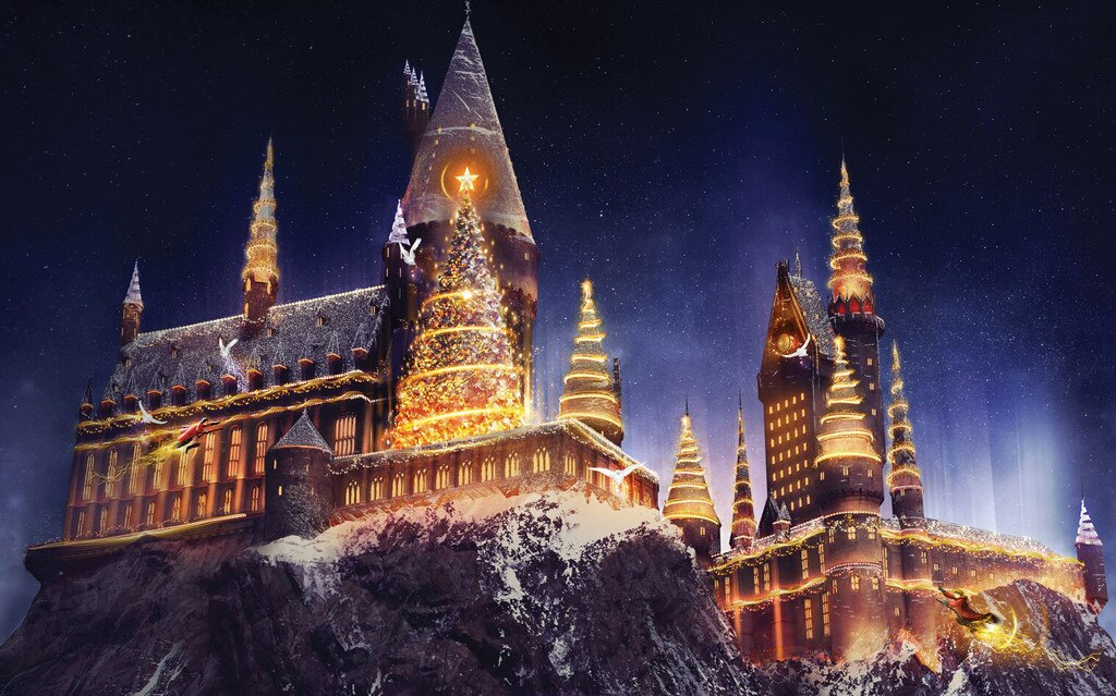 Universal Studios, Harry Potter, Christmas