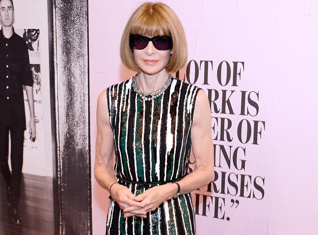 Anna Wintour Fights Back Tears When Honoring Late Franca ...