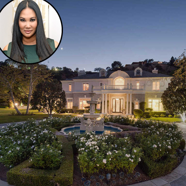 Kimora Lee Simmons, Beverly Hills Home
