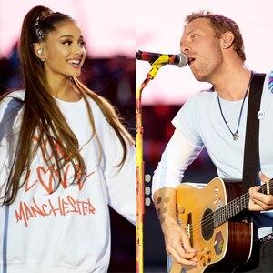 Chris Martin, Ariana Grande