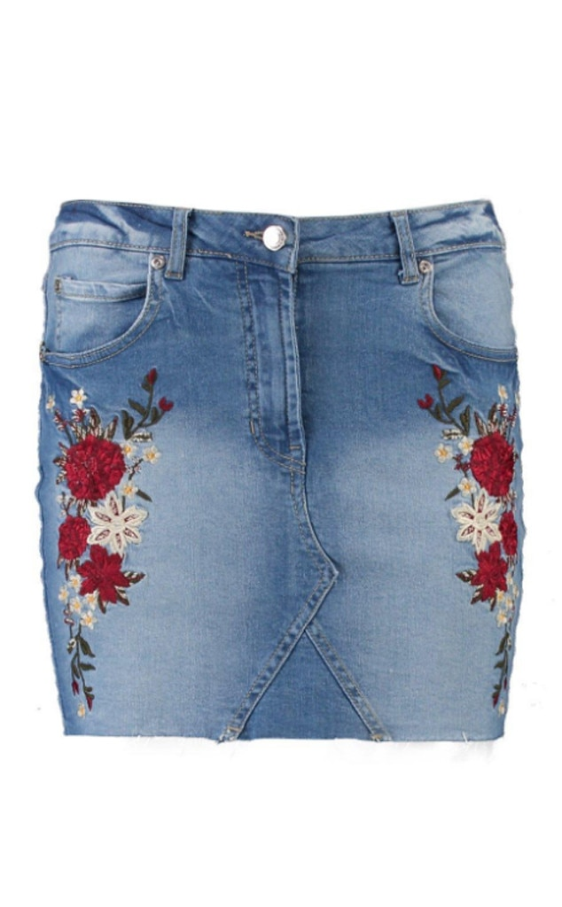 Branded: Denim Skirts
