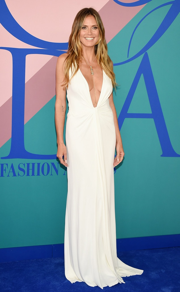 CFDA Awards 2017, Heidi Klum