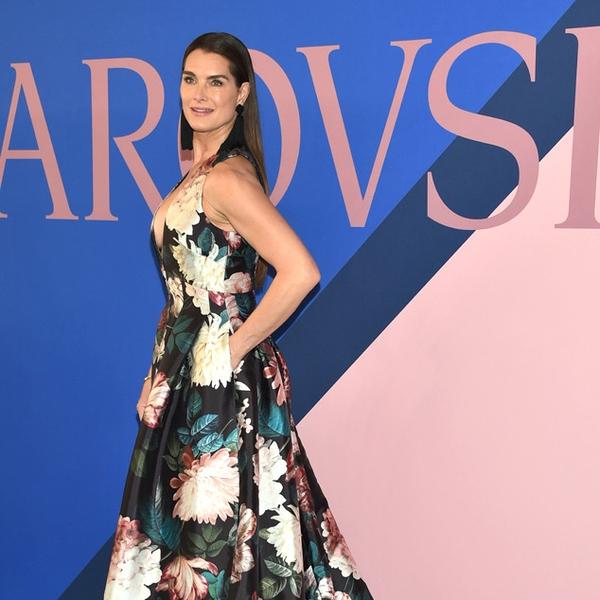 Fashion Beauty Awards 2017: Brooke Shields From CFDA Fashion Awards 2017: Red Carpet