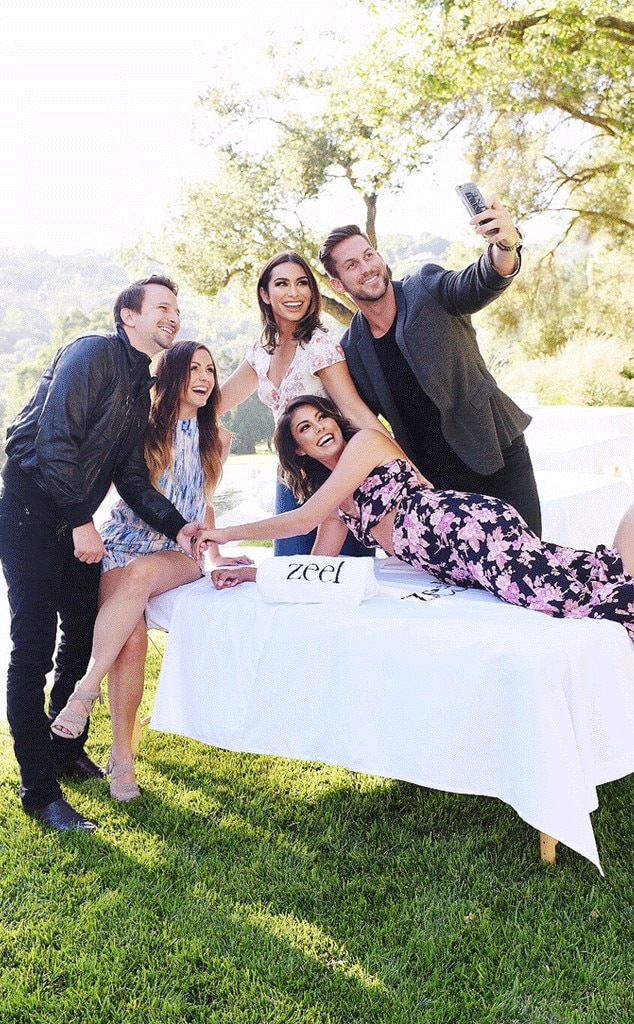 Celebrities Taking Selfies: Lace Morris, Chase McNary, Evan Bass, Carly Waddell & Ashley I