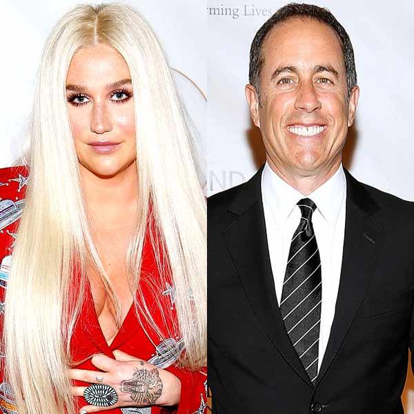 Kesha, Jerry Seinfeld