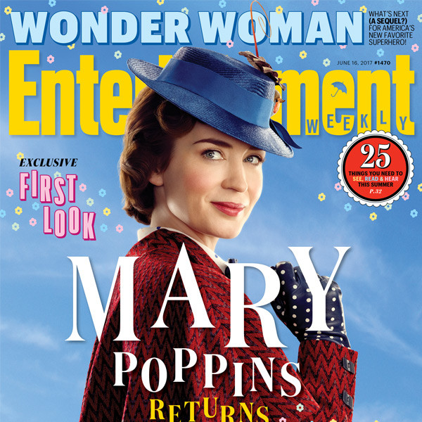 Emily Blunt, Mary Poppins Returns, Entertainment Weekly
