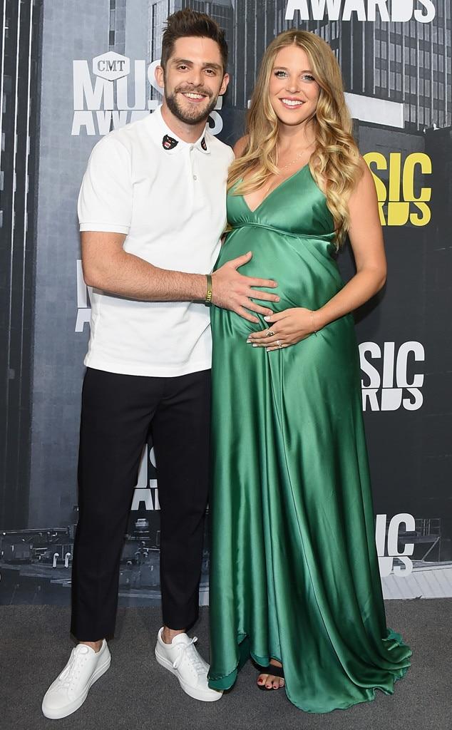 Thomas Rhett, Lauren Akins, 2017 CMT Music Awards, Couples
