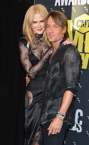Nicole Kidman, Keith Urban, 2017 CMT Music Awards, Couples