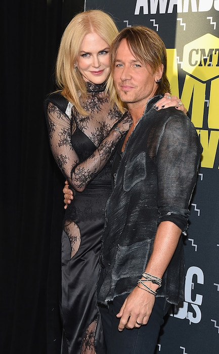 Nicole Kidman, Keith Urban, 2017 CMT Music Awards, Couples