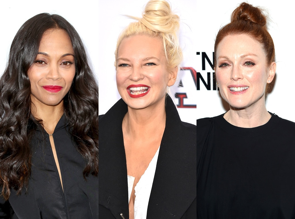 Sia Teams Up With Zoe Saldana, Julianne Moore for #endHIV Campaign