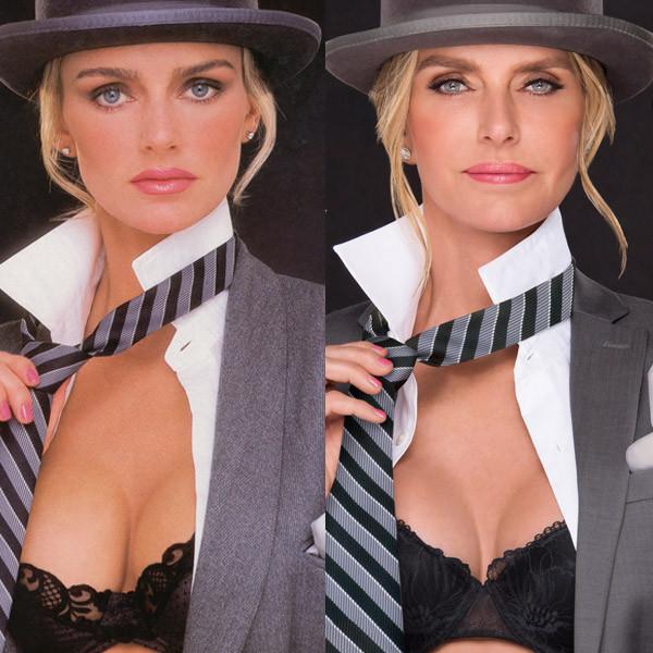 Playboy Then and Now Covers, Kimberley Conrad, Kimberley Hefner