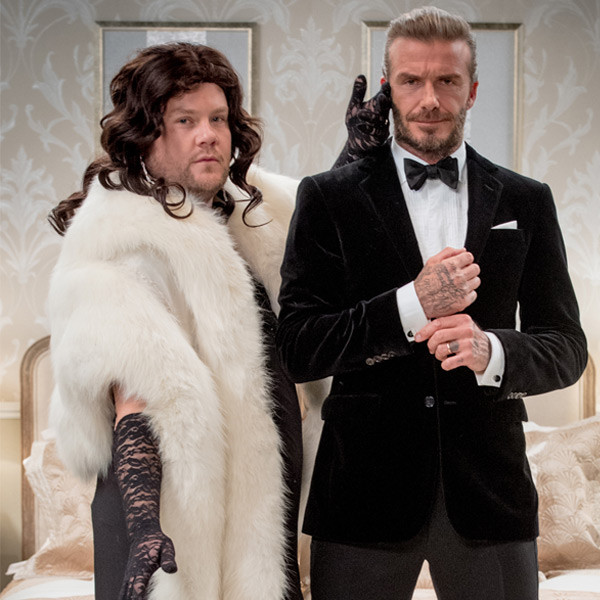 James Corden, David Beckham, The Late Late Show