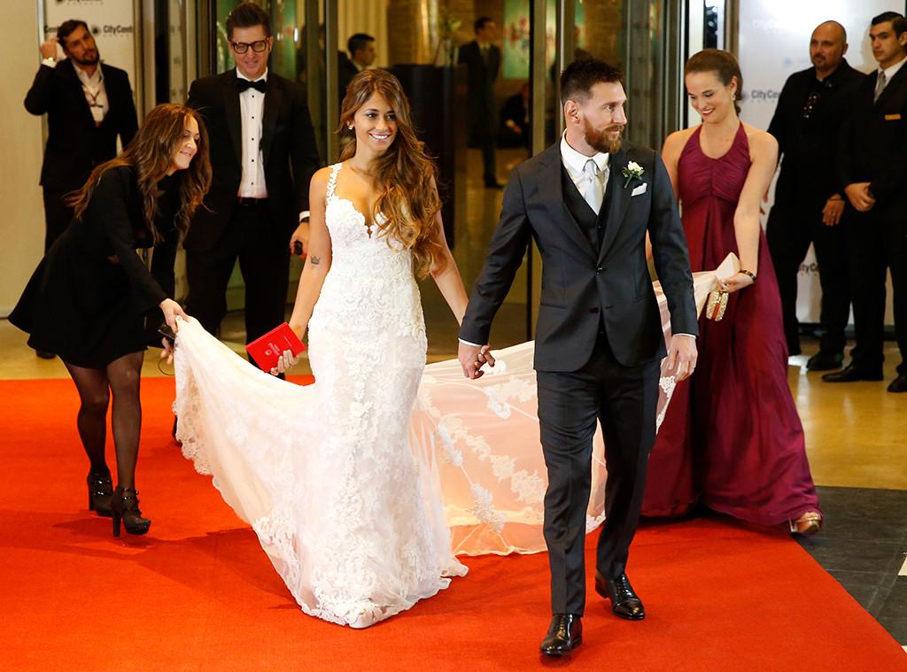 Lionel Messi Antonela Roccuzzo Wedding