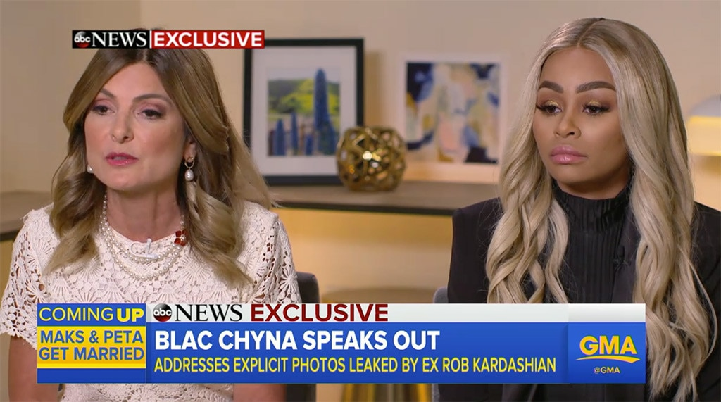 Lisa Bloom, Blac Chyna, Good Morning America