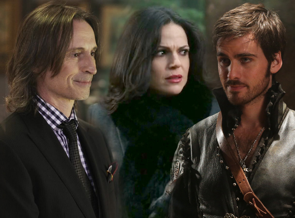 OUAT, Once Upon A Time, Robert Carlyle, Lana Parrilla, Colin O'Donoghue
