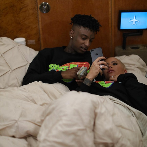 Amber Rose Says She and 21 Savage Are