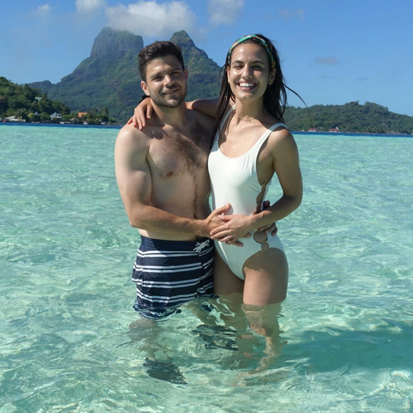 Jerry Ferrara and Breanne Racano's Picture Perfect Honeymoon