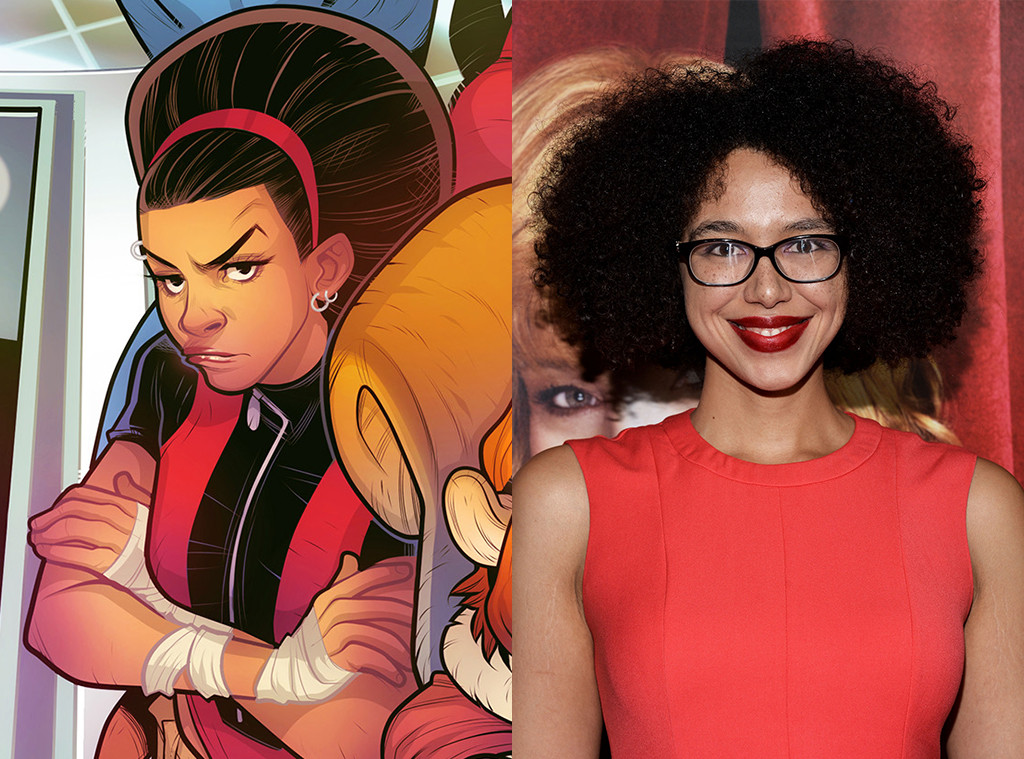 Kate Comer as Debrii (New Warriors) from Meet the Next Generation of Marvel TV Superheroes - E! News Kate Comer as Debrii (New Warriors) from Meet the Next Generation of Marvel TV Superheroes - 웹