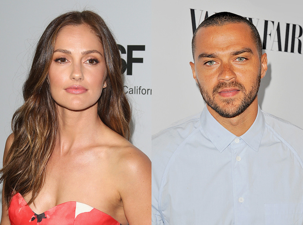Image result for jesse williams and minka kelly