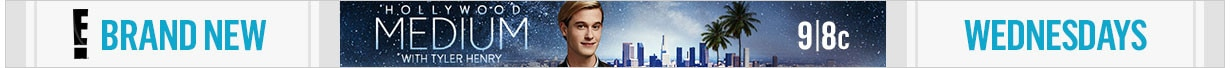 Hollywood Medium Tune-In Banner - New Wednesdays