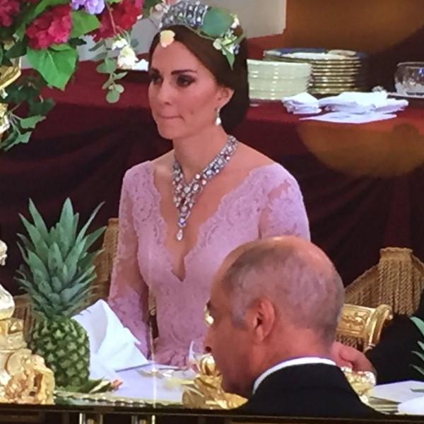 Kate Middleton, State Banquet, Princess Diana, Tiara