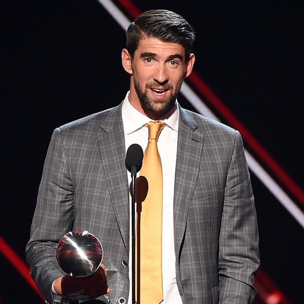 Michael Phelps, 2017 ESPY Awards, Winners