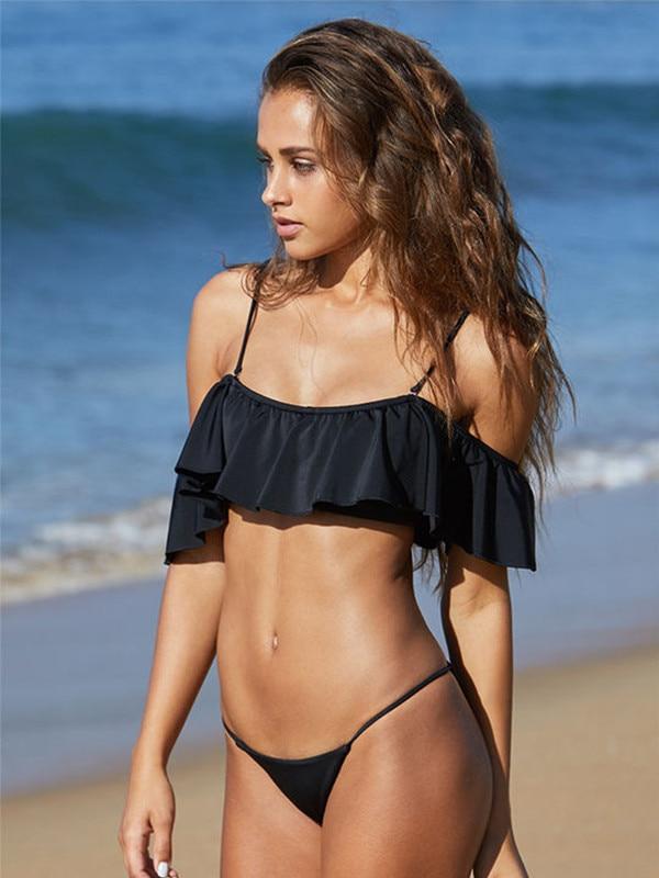 ESC: Off-the-Shoulder Swimsuit