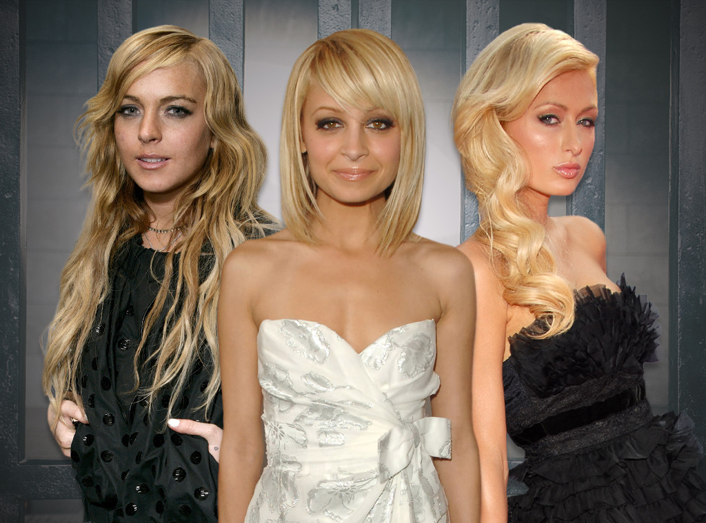 Lindsay Lohan, Nicole Richie, Paris Hilton, Young Hollywood in Jail