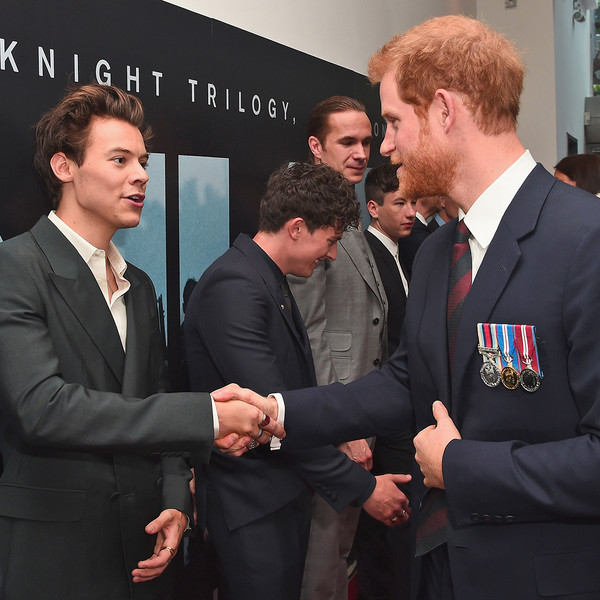 Harry Styles, Prince Harry