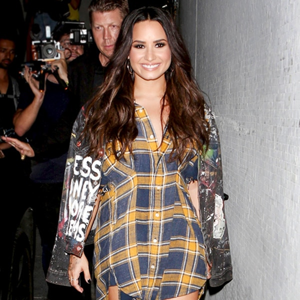 Saturday Savings: Demi Lovato's Ankle Strap Heels