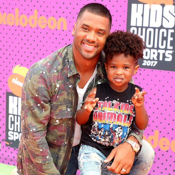 Russell Wilson, Future Zahir Wilburn, Nickelodeon Kids' Choice Sports Awards