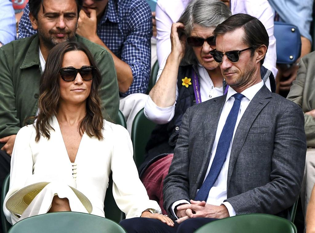 Pippa Middleton, James Matthews, 2017 Wimbledon