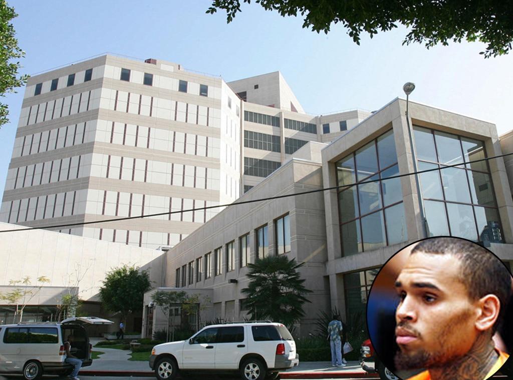 Chris Brown, Men's Central Jail