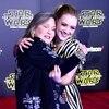 Carrie Fisher, Billie Lourd, Star Wars Premiere