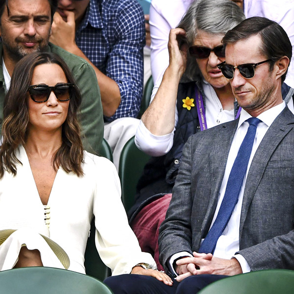 Pippa Middleton, James Matthews, 2017 Wimbledon