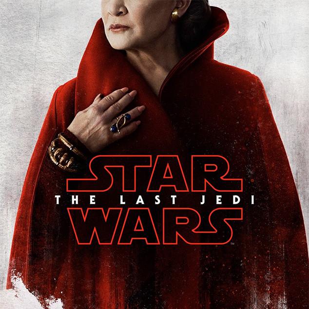 Les affiches des personnages de <i>Star Wars : Les Derniers Jedi</i>