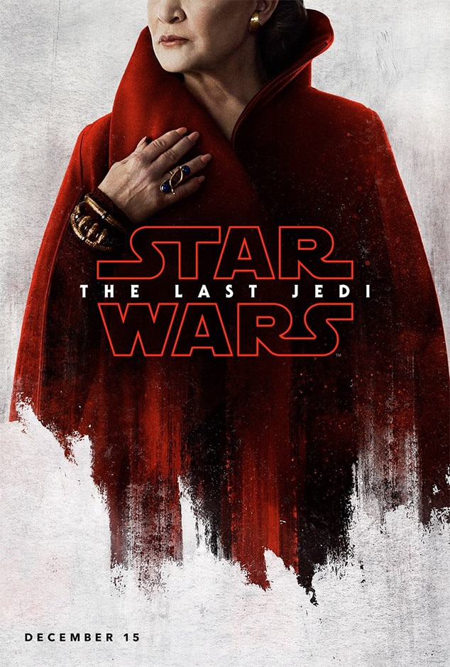 Carrie Fisher, Star Wars: The Last Jedi, Character Poster