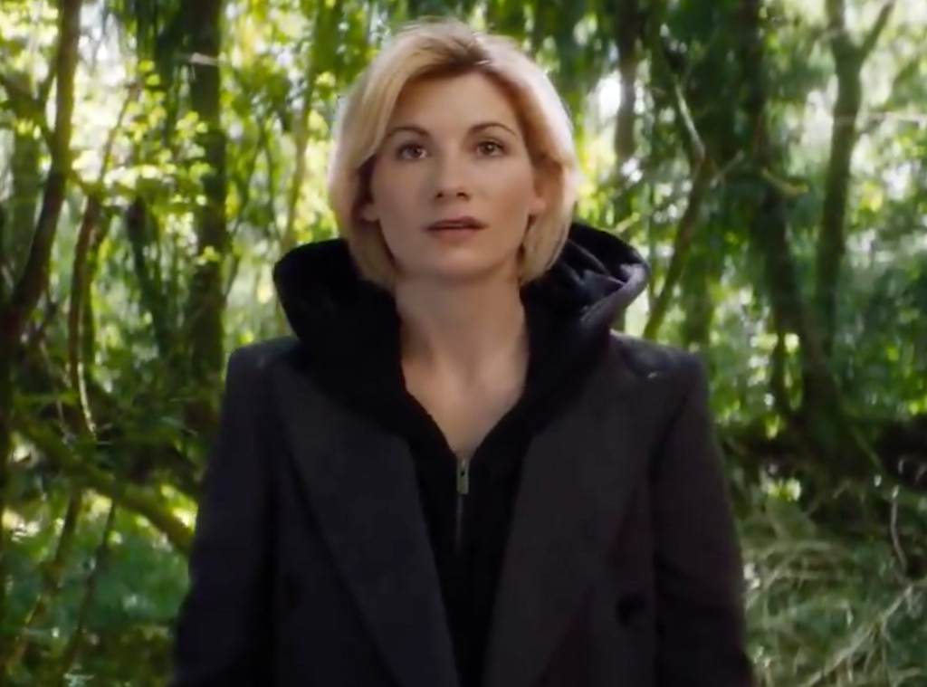 Jodie Whittaker makes her first appearance as 'Doctor Who'
