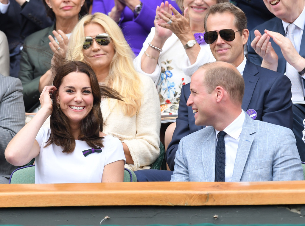 Kate Middleton, Prince William, Wimbledon