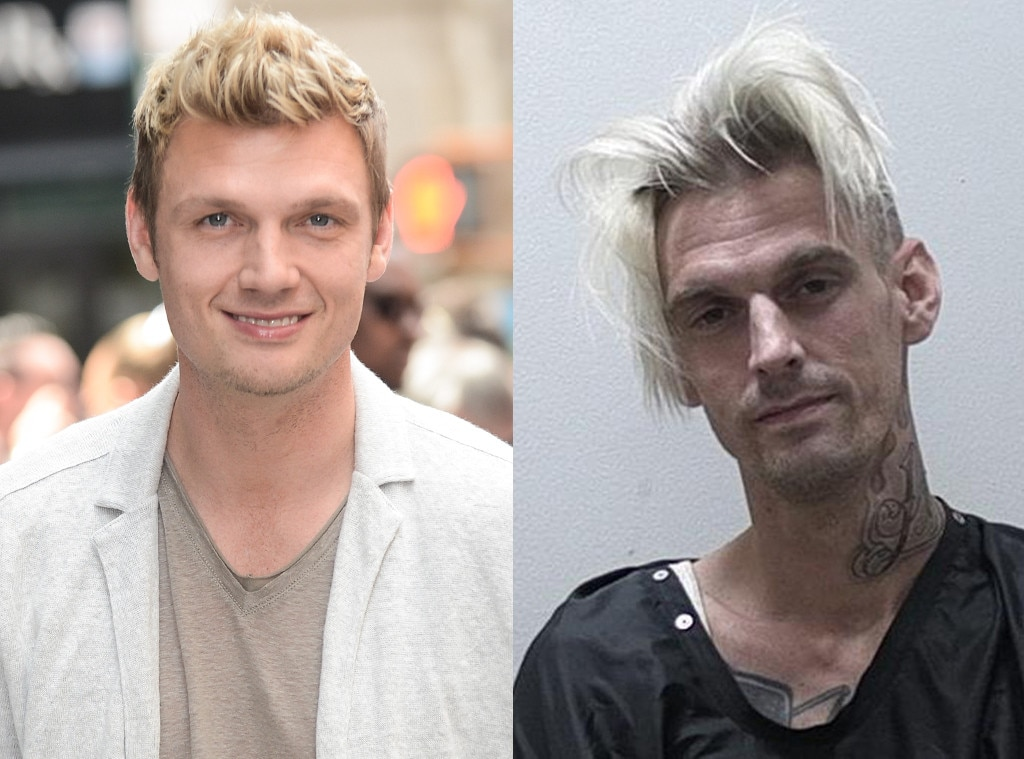 Nick Carter, Aaron Carter, DUI Arrest, Mug Shot, 2017