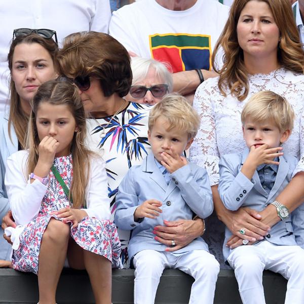 Mirka Federer, Myla, Charlene, Leo, Lenny