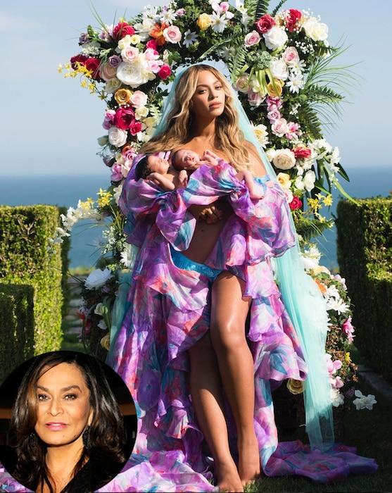 Beyonce, Sir Carter, Rumi Carter, Tina Knowles Lawson