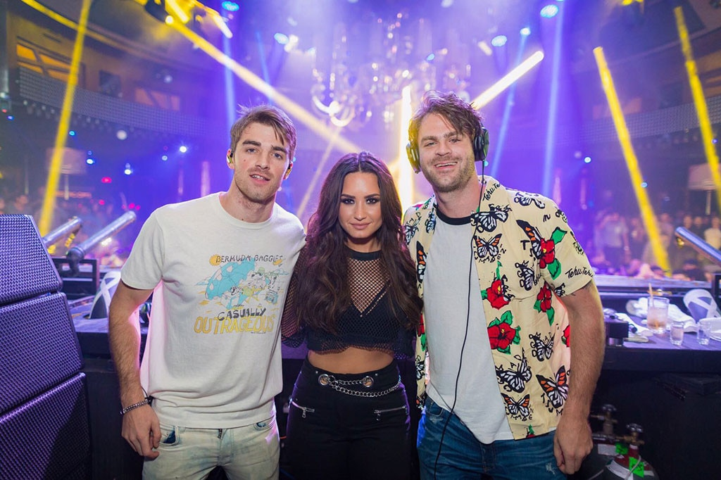 Demi Lovato, The Chainsmokers
