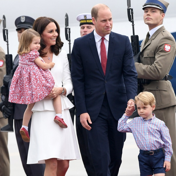 Prince George and Princess Charlotte's cute outfits steal scene in Poland